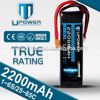 Upower rechargeable lipo battery 11.1 for rc models