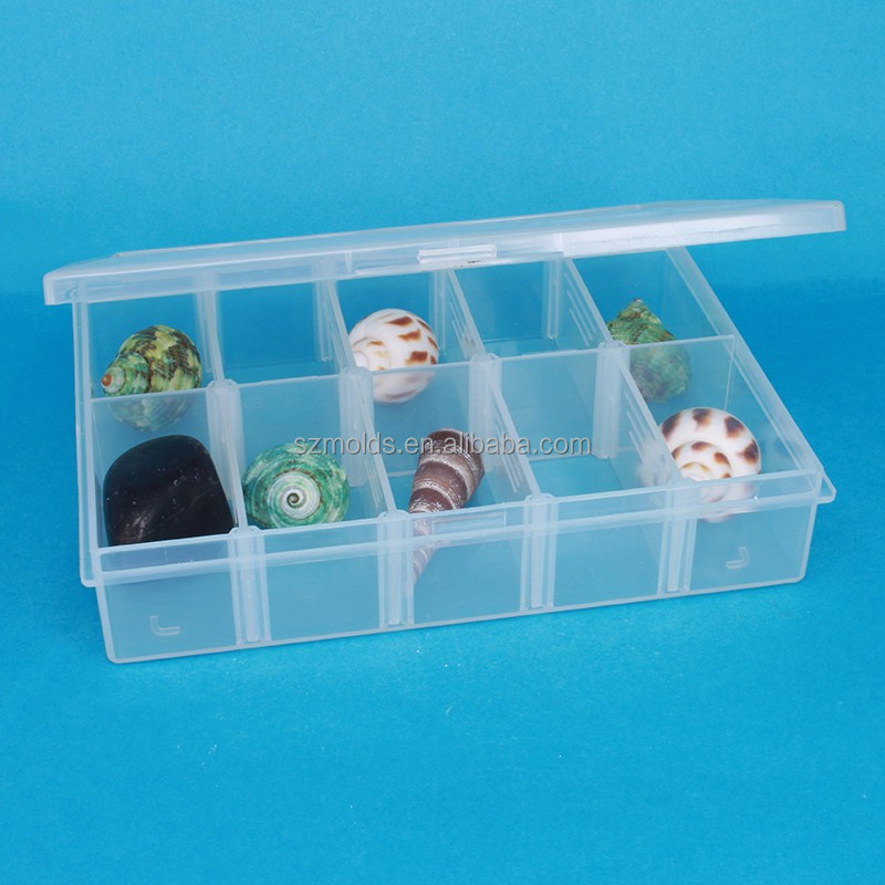 Transparent plastic pp box injection <strong>mold</strong>/PP PET container Plastic <strong>mold</strong> design production
