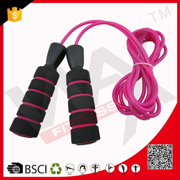 Hot Sale Double Color Foam Handle Weighted Jump Rope Skipping Rope