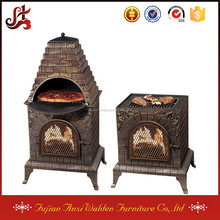 pizza oven chiminea modern fireplace