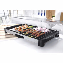 2017 professional electric barbecue grill with hot pot cooking fish meet bbq grill pan