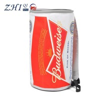 ZQ-D-004 Dongguan 600D PU factory direct sale BSCI certification picnic beer bottle design insulated cooler bag