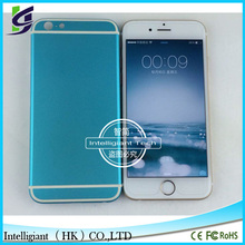 metal alloy Battery door Back Cover For iPhone6 4.7'' Metal and Glass Full replacement Housing