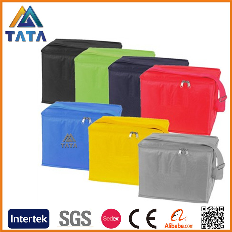 TATA 2016 Hot Selling Wholesale Good Quality Customized Lunch Bag Freezable Lunch Bag