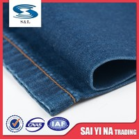 Custom design different types textile denim fabric in low price for sale
