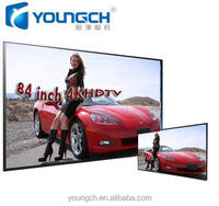 Huge display screen ultra high resolution 4K or 8K selection high quality good price 84 inch china big screen lcd tv