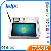 Telepower TPS510 Android POS Terminal with NFC Reader All In One Android POS Tablet for Financial