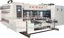 Fully automatic corrugated box making machine/carton printer