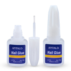 XULIN Wholesale Waterproof Nail Glue 10g with Nail Glue Brush Nail Free Glue