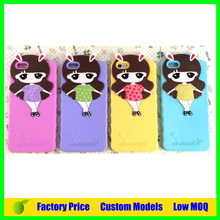 Lovely girl Xiaoxi cell phone case for samsung galaxy note 2 N7100 phone case cover