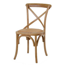 High quality french design wood restaurant dining chair