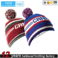 Hot sale custom knitted hat/ caps DW063