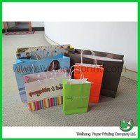 Fancy Gift Shopping Paper Bag Supplier