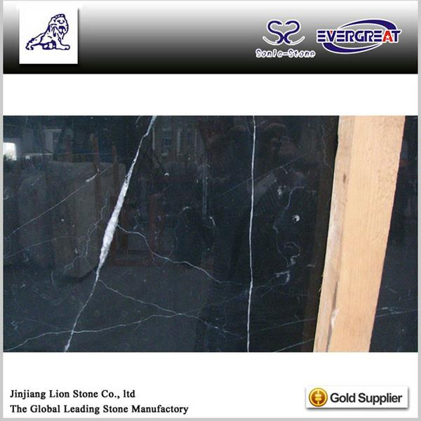 Natural chinese hgih grade chinese portoro polished marble slabs