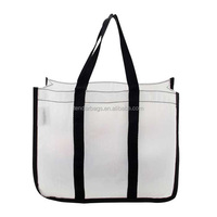 Transparent Clear Vinyl PVC Shopping Beach bag