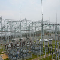 structure steel fabrication of Transformer Substation