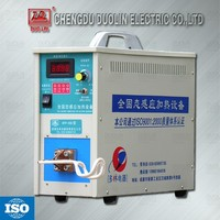Duolin small part 7 KW 50--100Khz high frequency induction heating generator