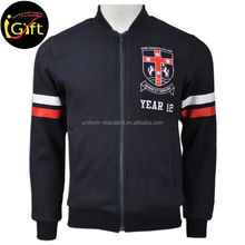 Oem Plain Low Price Men Custom Varsity Jackets