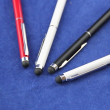 Factory sell colorful crystal bling stylus pen with your logo printed