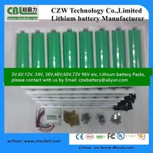 18650 3000mah 40A rechargeable lithium 3.7v headway 38120 10ah 3.2v lifepo4 battery cells