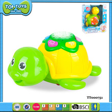 Funny Electronic Toys BO Magic Little Turtle With Music And Light