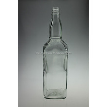 CHINA MADE 500ML ROUND NECK EMPTY GLASS BEER BOTTLES