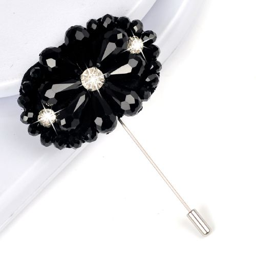 Latest fashion badge long brooch pins die cut lapel pins for mens