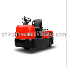 electric tow tractor baggage towing tractor