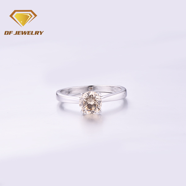 Mothers day gifts cheap brass jewelry fashion rings prong setting ring for women
