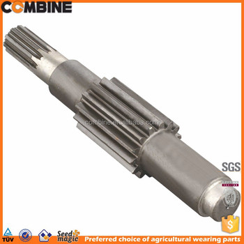 Combine Harvester Spare Parts metal shaft