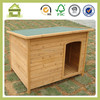 SDD06 Fancy Wooden Off-center Dog Kennel