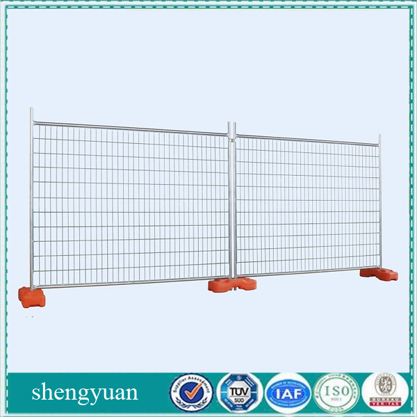 Hot Sale Easy Assemble Standard Galvanized Temporary Yard Fence Panel For Construction