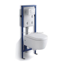 Concealed cistern washdown wall hung toilet ceramic water closet