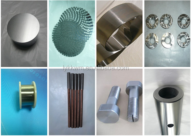 luoyang kekai manufacturer high purity copper tungsten alloys