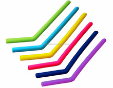 BPA Free Eco-Friendly and Reusable silicone drinking straw