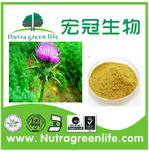 Milk Thistle Extract 80%Silymarin, fine light yellow powder 1 Kilogram (Min. Order)