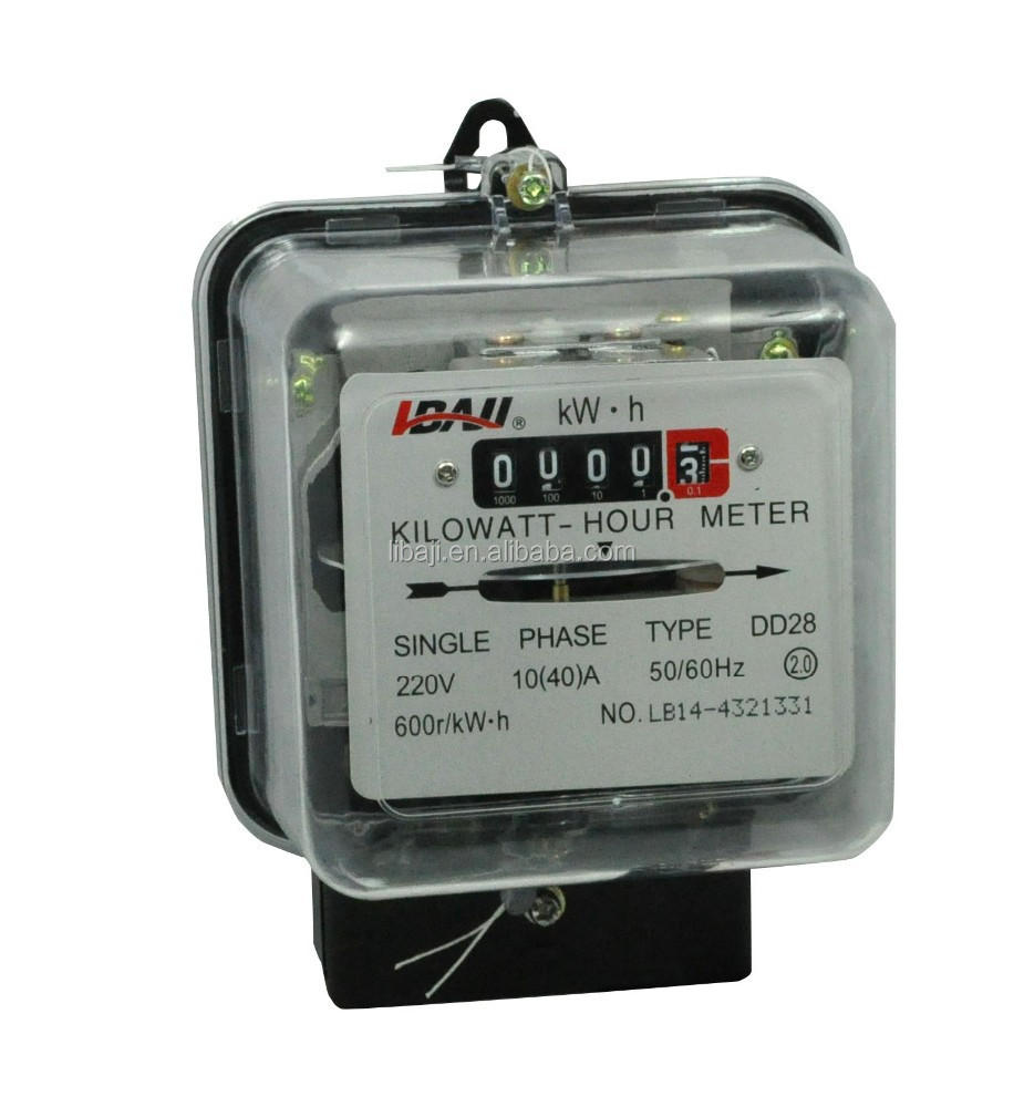 DD28 Low price single phase inductive home use energy meter kwh meter