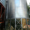 Hot sale hopper bottom grain storage silos prices