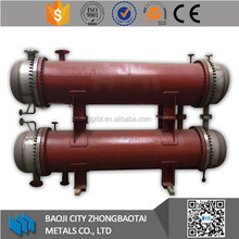 Titanium tube type twin heat exchanger