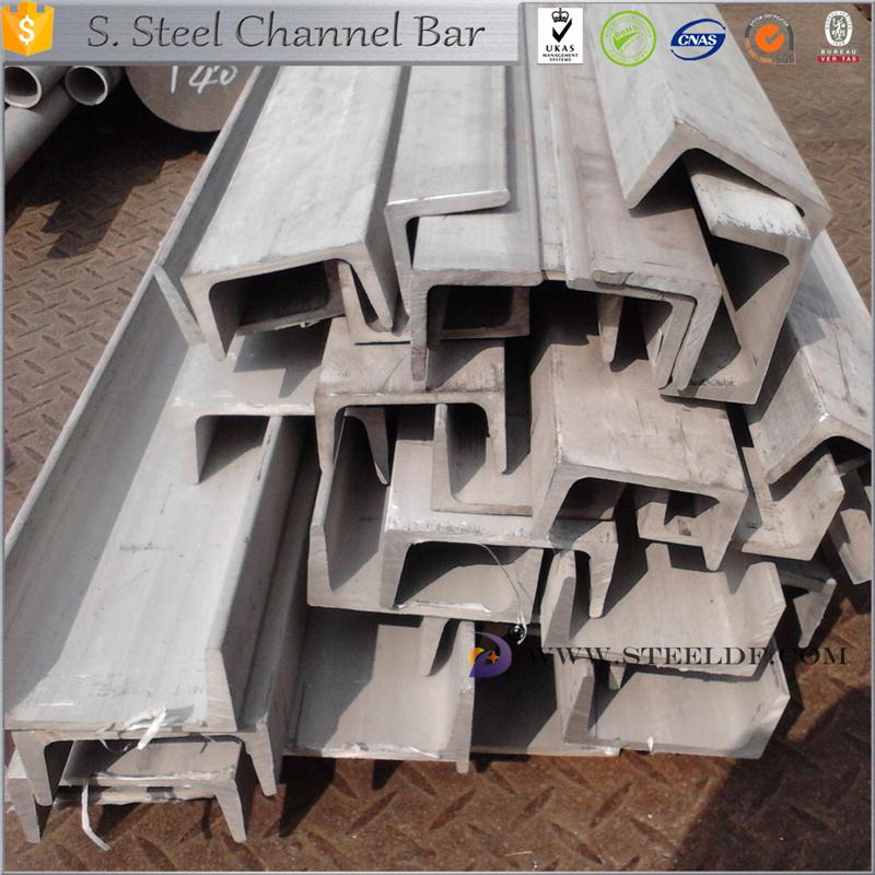 Hot selling ss316l stainless steel channels profile for wholesales