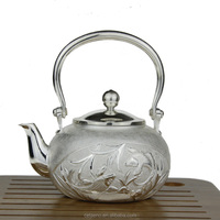 Chinese Best Silver Casting S990 Silver Animal Pattern TeaPot