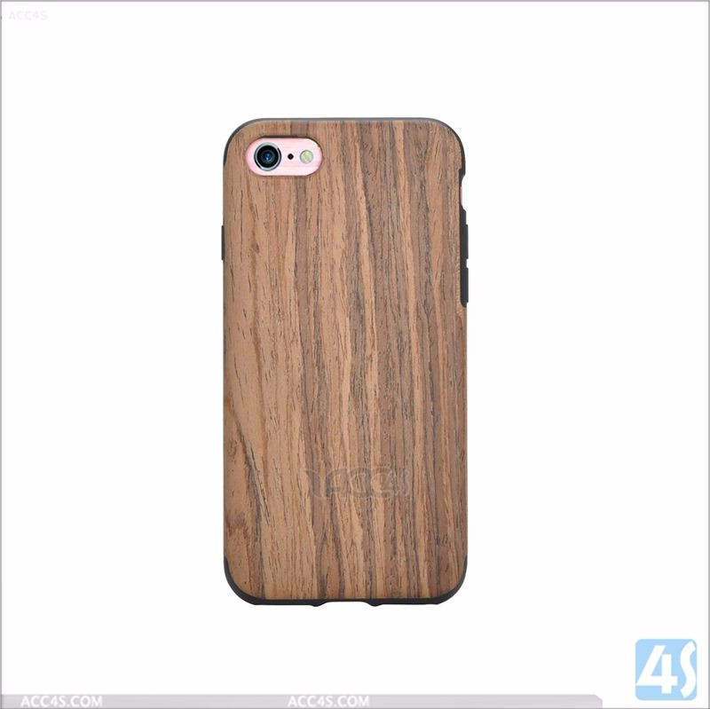 Wood TPU mobile Phone Case for Apple iPhone 7, phone case 2016