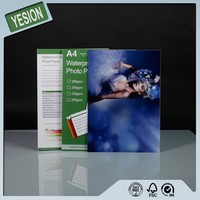 Yesion 2015 Hot Sales ! Hot Photo A4 High Glossy Inkjet Photo Paper 115gsm-260gsm Wholesale OEM