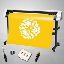 CE approved 48'' 1360mm cutting plotter for heat transfer vinyl / Sticker cutter
