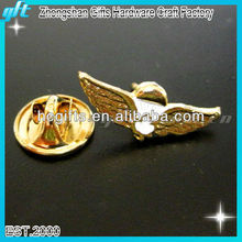 2016 Promotional item gold eagle badge,metal eagle badge,bronze eagle with your own logo for wholesale