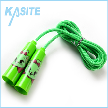 high quality cotton jump rope with pp handle for kids