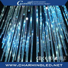 Night club/Party/Wedding/event stage decorative ceiling RGB meteor starfall LED tube light