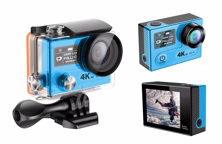 240fps mini action camera WIFI H8 pro with Ambarella chipset