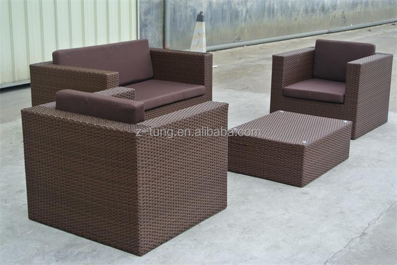 ZT-3050S Modern design garden furniture rattan dubai sofa