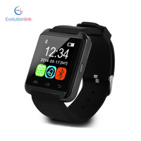 Cheapest bluetooth watch for iPhone, u8 smart watch with TFT LCD, touch screen watch mobile phone